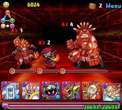 焔の龍騎姫超級4バトル目