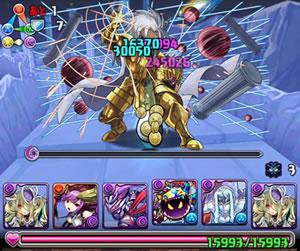 聖闘士星矢コラボをパンドラパーティーでノーコン攻略