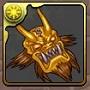 169黄金の鬼神面