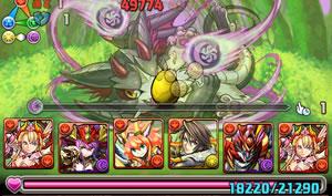 闇の猫龍【八猫龍】を覚醒ミネルヴァパーティーでノーコン攻略