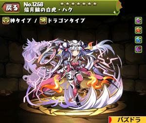 焔月輪の白虎・ハク